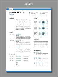 Modern Resume Not Including Objective Modern Resume Template 1 Stylish Resume Design Set Of