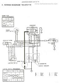 honda atc wiring diagram wiring schematics and diagrams 3wheeler world atc110