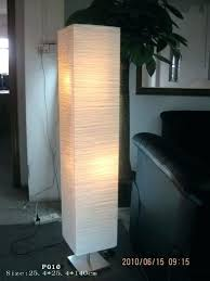 rice paper floor lamp lantern lamps throughout decor 6