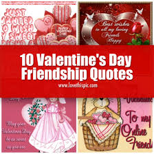 Valentine Quotes For Friends Awesome 48 Valentine's Day Friendship Quotes
