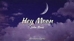Hey Moon ~ John Maus ( Lyrics ) ✨ - YouTube