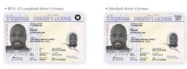 Real Now Virginia Offering Licenses Id-compliant