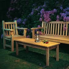 garden set. Clifton Nurseries Barlow Tyrie London Traditional Teak Garden Bench Set