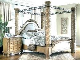 Wrought Iron Canopy Bed King Cast Bedroom Lauren Metal – yaygod.co