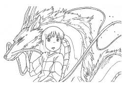 spirited away coloring pages.  Coloring Spirited Away To Coloring Pages P