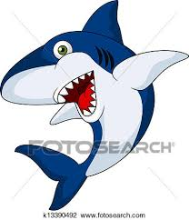 smiling shark clipart.  Clipart Clipart  Smiling Shark Cartoon  Fotosearch Search Clip Art  Illustration Murals Drawings Intended Shark I