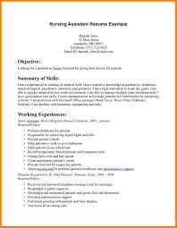 Cna Resume Examples With No Experience Of Resumes Image Resume