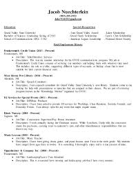 Complete Resume. Jacob Nuechterlein (989)-295-2953 JakeN1410@gmail.com  Education Special ...