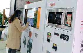 China Vending Machines New Vending Machines Give Customers Convenient Options China