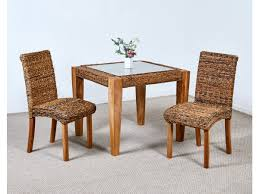 Small Kitchen Table 2 Chairs Abaca Milan Small Dining Table And 2 Chairs