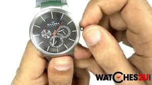 skagen mens grey aktiv titanium watch 809xlttm skagen mens grey aktiv titanium watch 809xlttm