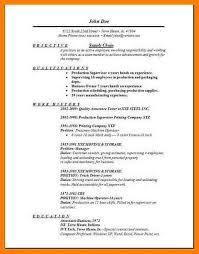 40 Supply Chain Resume Letter Setup Impressive Supply Chain Resume