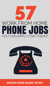 57 Work from Home Phone Jobs You Can Apply for Today