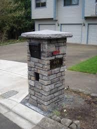 stone mailbox designs. Mailbox Traditional-landscape Stone Designs Houzz