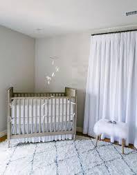 nursery with caddy corner crib