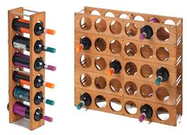 wood wine rack, DIY simple design single column doesnt look