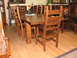 maple timber dining room table collection with trestle style base hart s country furniture sutton ontario
