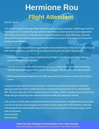 flight attendant cover letters flight attendant cover letter example