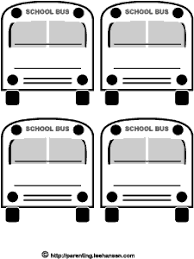 Small Picture School Bus Coloring Page free download