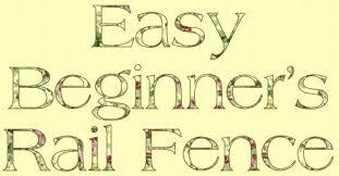 Free Quilt Pattern - Easy Beginner's Rail Fence &  Adamdwight.com