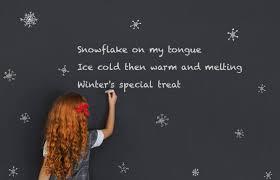 winter poems for kids lovetoknow