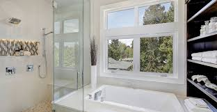 clean your glass shower door with wet forget shower