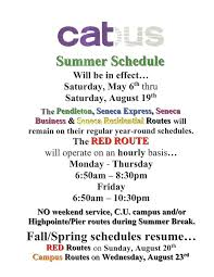 inside clemson on twitter clemson catbus releases its summer schedule updates at s t co povbcrqhac s t co mxfmkoohds