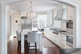 Amazing New England Design Works Kitchen U0026 Bath Designers. Walnut And White  Transitional Kitchen Home Design Ideas
