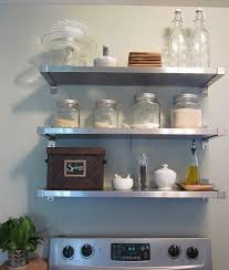 Steel Shelf For Kitchen Freckles Chick Ikea Insanity Kitchen Shelves