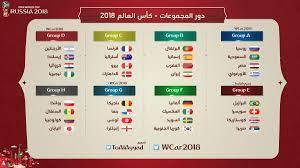 كل مجموعات كأس العالم 2018.. مصر مع روسيا والسعودية وأوروجواى - اليوم السابع