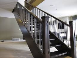 Contemporary Stair Railing Decor