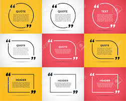 How To Quote A Website Website Review Quote Citate Blank Template Website Review Vector