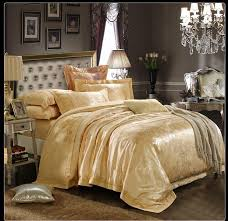gold bedspread queen 98 gold bedding set elegant luxurious blue and brown bedding