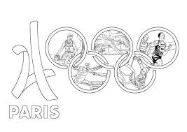 Jeux Olympiques Paris 2024 Coloriage Sur Les Jeux Olympiques