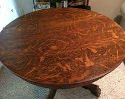 antique oval oak dining table and chairs. antique clawfoot tiger oak dining table with glass top oval and chairs