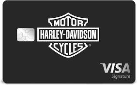 harley davidson visa credit card from