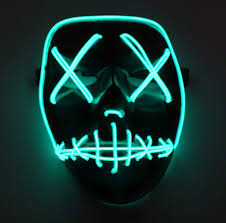 Led Light Up Mask Amazon The Purge Election Year Led Light Up Mask Festival Halloween Costume By Asvp Shop