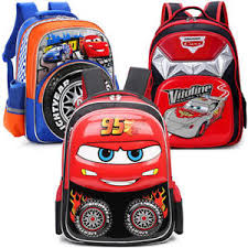 image is loading cute 3d cars kids backpack mcqueen boy