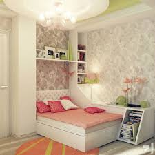 Delightful Teenage Bedrooms Ideas For Small Rooms : Decoration Ideas  Fascinating Teenage Interior Bedroom Design Teenage