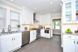 White Kitchen Cabinets Ice White Shaker Door Style Kitchen White