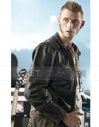 roas machine kelly leather jacket