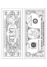 Money Coloring Pages Rosarioturismoinfo