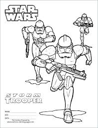 stormtrooper coloring pages storm trooper page star wars clone troopers printable