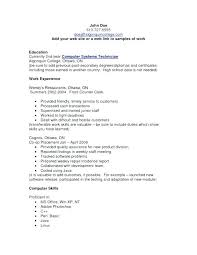 Computer Skills On Resume Inspiration Basic Skills Resume Examples Customer Care Cashier Resume Computer