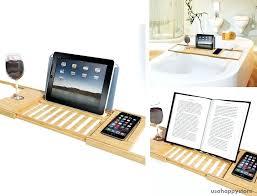 bamboo bathtub caddy bamboo bathtub tray tablet smartphone cup book holder tub bathroom bamboo bathtub caddy