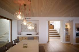 dining table lighting. Delighful Table Dining Table Lighting Wood Flooring Beautiful Waterfront Home In Coogee  Australia In Table Lighting