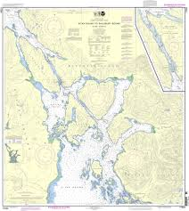 Noaa Chart 17324 Sitka Sound To Salisbury Sound Inside Passage Neva Str Neva Pt To Zeal Pt
