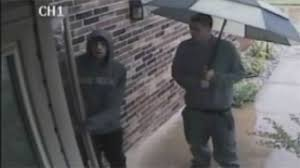 camera for front doorHomeowners Security Cameras Capture Video Of Burglary Suspects