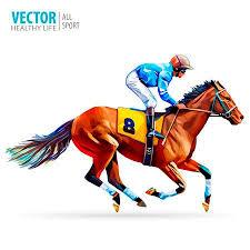 horse racing clipart.  Racing Jockey On Horse Champion Horse Racing Hippodrome Racetrack Jump  Racetrack Inside Racing Clipart C