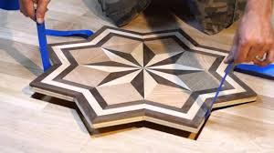 pid floors presents installing a hardwood flooring medallion inlay you